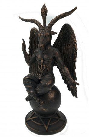 Baphomet Figur 26 cm Satan Teufel Templer