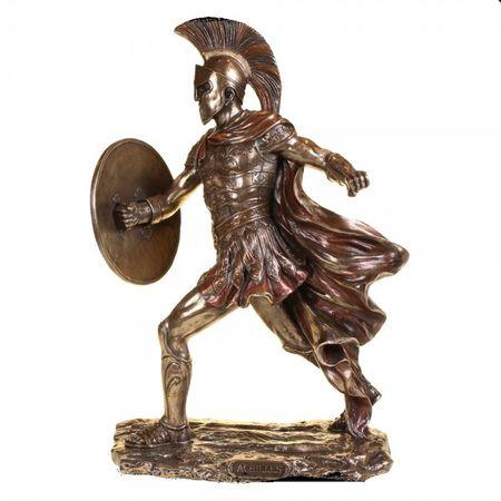 Figur des Achilles Skulptur Odysseus Troja