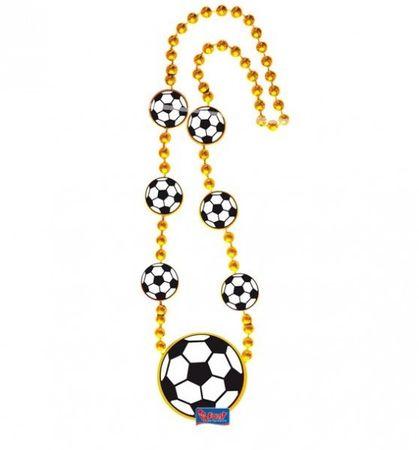 1 Fussball Kette Party Deko Feier EM WM