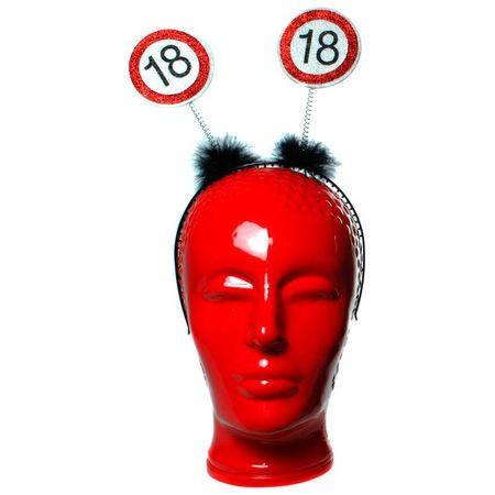 Geburtstag Haarreifen mit Wackel 18 Jahre Deko Party Dekoration Feier Birthday