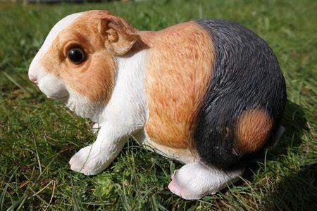 Süsses Meerschweinchen 15 cm Figur Garten Tier Gartenfigur Schwein