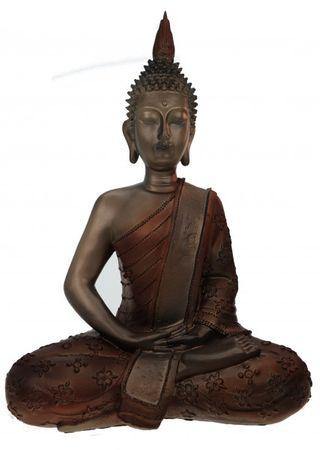 Figur Buddha 40 cm Deko Skulptur Figur Feng Shui