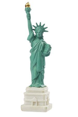 Freiheitsstatue Statue of Liberty 11 cm New York Figur Skulptur Deko Tortendeko