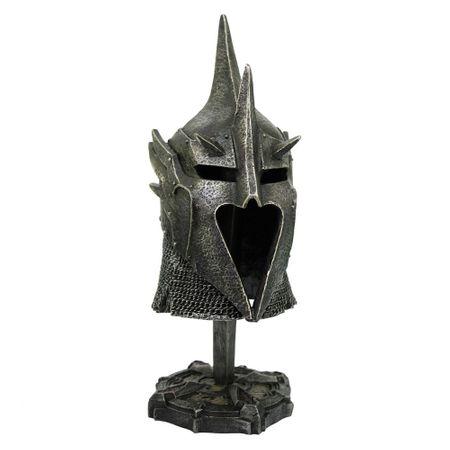 Dekofigur Overlord Medieval Helm 2teilig Figur Skulptur Mittelalter