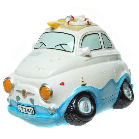 Spardose Urlaub Mini Auto Urlaubskasse Sparschwein Strand