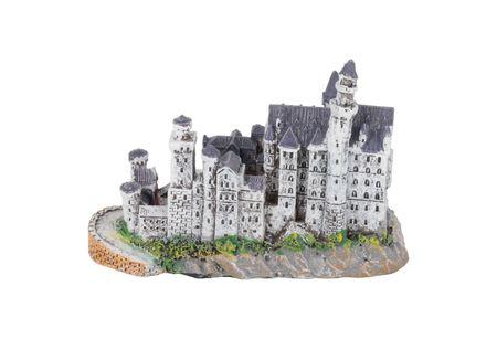 Mini Skulptur Schloss Neuschwanstein  Figur Deko Tortendeko Ritterburg Burg Souvenir