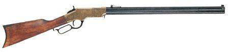 Denix Replica Henrystutzen messingfarben USA 1860 Achtkantlauf Henry Gewehr