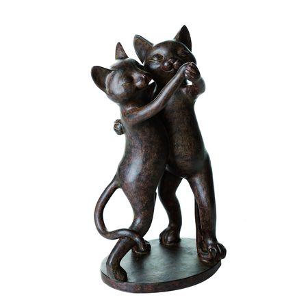 Casablanca Figur Dancing Cats braun Katze tanzen Paar Liebe