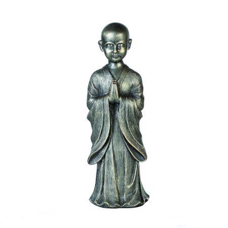 Casablanca Figur Betender Mönch im antikem Finish Glaube Kirche