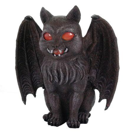 Fantasy Katze mit Teelicht Figur Cat Stimmungslicht Teelichthalter