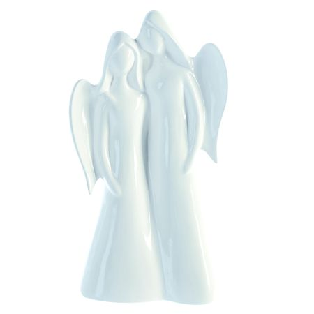 Casablanca Design Skulptur Engel Duo Figur Angel