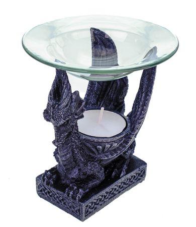Vogler 766-3001 Duftlampe kleiner Drache 12 cm Figur Teelicht – Bild 1