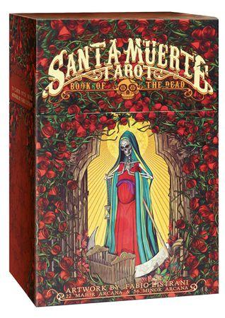 Lo Scarabeo 818-1234 Santa Muerte Tarot 78 Stk Karten Wahrsagen Hellsehen Orakel