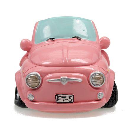 Pink Shopping Spardose Mini Auto Sparschwein Sparbüchse – Bild 2