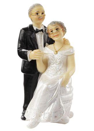 Hochzeitspaar ca. 7,5 cm Figur Deko Hochzeitspaar Brautpaar