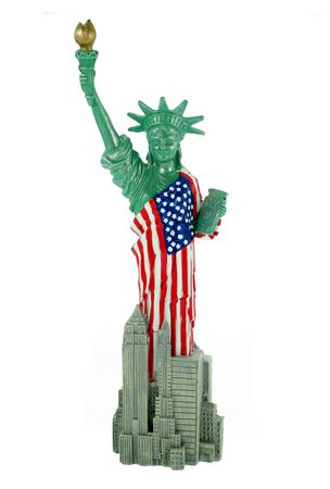 Freiheitsstatue Statue of Liberty 29 cm New York Figur Skulptur USA Reise Deko   – Bild 1