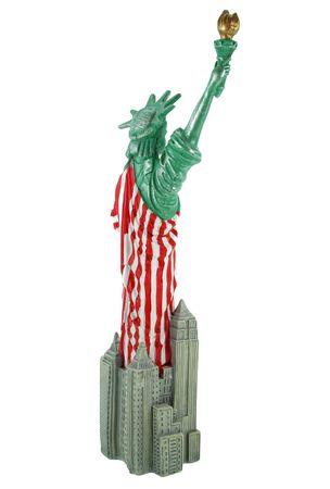 Freiheitsstatue Statue of Liberty 29 cm New York Figur Skulptur USA Reise Deko   – Bild 5