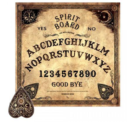 Pentagram Ouija Hexenbrett Spiritismus Witchboard 36 cm Satan Geisterboard