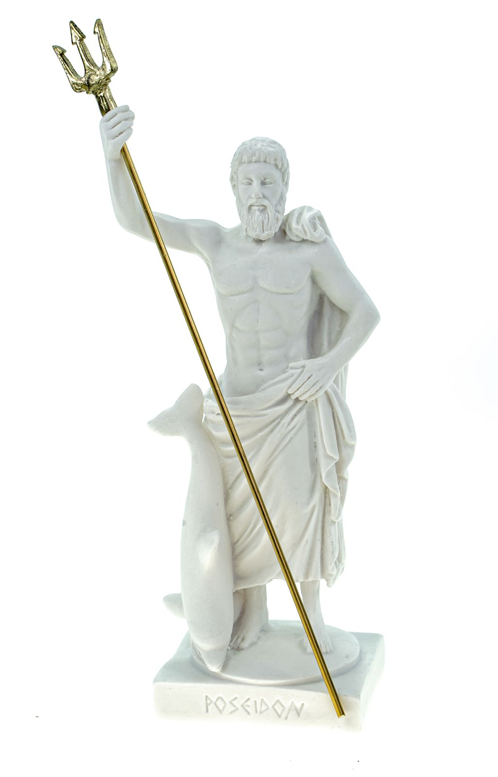 Maska 3-784W Poseidon Alabaster White Serie G/ötter 16 cm