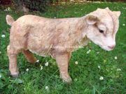 Ziegenbaby Figur Tierfigur Ziege Gartenfigur 001