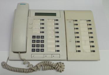 Siemens Optiset E advance plus mit Key Module Telefon Systemtelefon – Bild 2