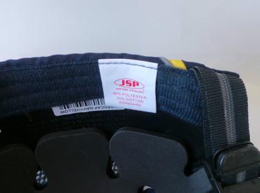 Anstoßkappe, Hardcap A1+, JSP 7cm Schirm navy/gelb Sicherheits-Anstoßkappen – Bild 5