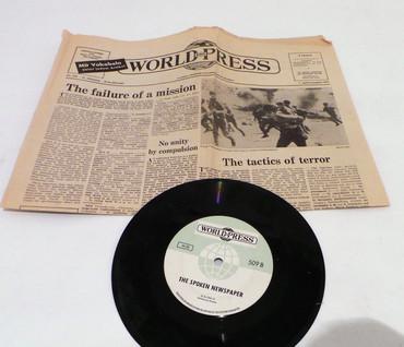 Sprechende Zeitung mit Schalplatte Nr 511 / 1.5.1971