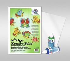 URSUS Mobile-Window Color Folie 100 Bogen 50x70cm 0,4mm