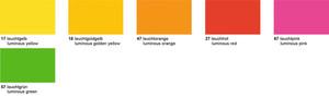 URSUS Plakatkarton380g/qm 48x68cm 10 Bogen - Leuchtfarben