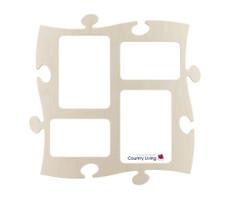 Country Living Puzzle-Bilderrahmen 10x15/13x18 natur #7203