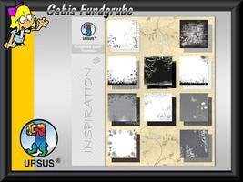 URSUS Scrapbook paper Block Timeless 180g 30,5x30,5cm 10 Blatt