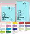 URSUS Briefumschläge farbig DIN C6 10 Stück in einer Farbe