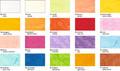 URSUS Digital Strohseide 25g 10 Blatt DIN A4 - Einzelfarbe