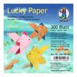 URSUS Faltblätter  Lucky Paper , 10x10 cm, 300 Blatt 20 Designs sortiert