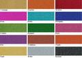 URSUS Glitterkarton 330g DIN A4 10 Blatt - Einzelfarbe