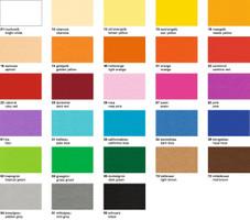 URSUS Tonkarton 220g/qm DIN A4 100 Blatt Einzelfarbe