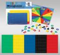 URSUS Moosgummi-Zahlen 150 Stück in 5 Farben