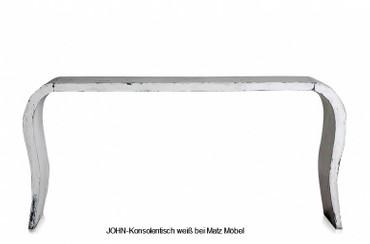 JOHN, Konsolentisch weiß modern