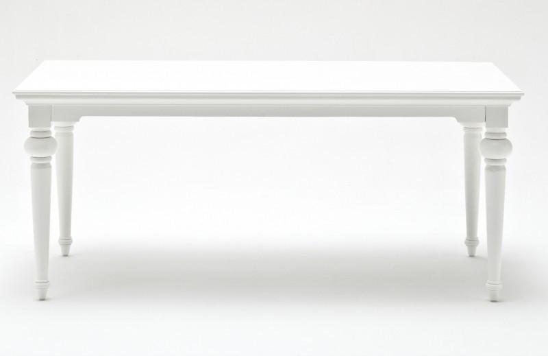 KARL, weißer Tisch, Esstisch | Hochwertige Vintage & Designer Möbel ...