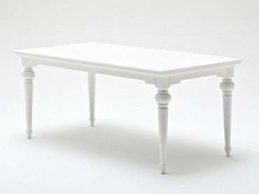 KARL, weißer Tisch, Esstisch