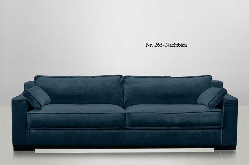 JOSUA, Couch Samt 4 Sitzer