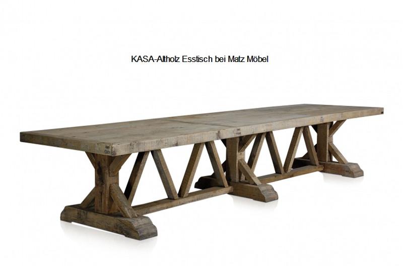 tisch aus alten balken wohn design. Black Bedroom Furniture Sets. Home Design Ideas