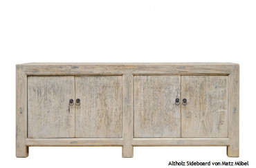 Altholzmöbel vintage Sideboard, SAIKA 6