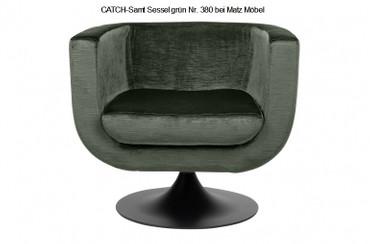 CATCH-Samt Sessel grüne Farben