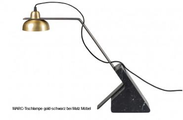 MARC-Tischlampe gold