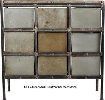 SILLY-Sideboard Metall