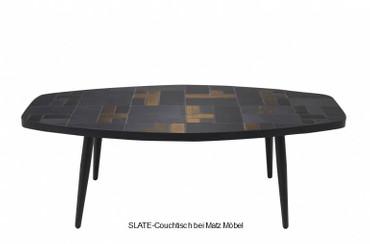 SLATE-Couchtisch gold schwarz