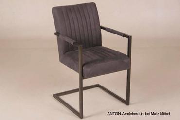 ANTON-Armlehnstuhl Industriedesign
