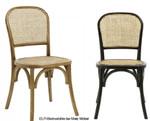 Holzstuhl Wiener Geflecht, Größe: Höhe 86 cm x Tiefe 42 cm x Breite 45 cm, Sitzhöhe 46 cm