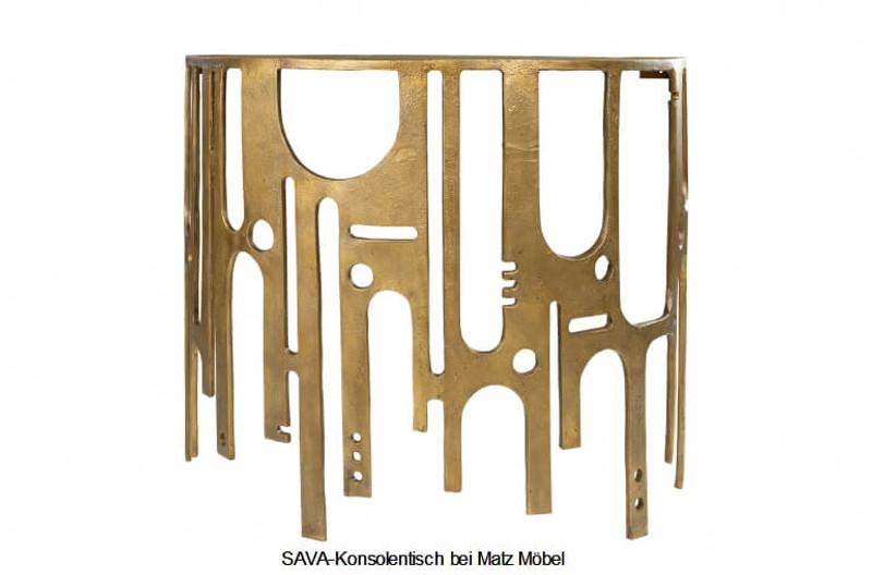 Industrial Beistelltisch Handgefertigter Konsolentisch Wandtisch im Industriedesign
